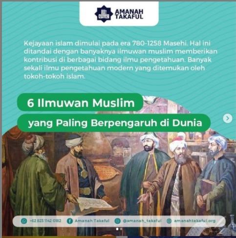 6 Ilmuwan Muslim yang Paling Berpengaruh di Dunia, Wajib Diketahui