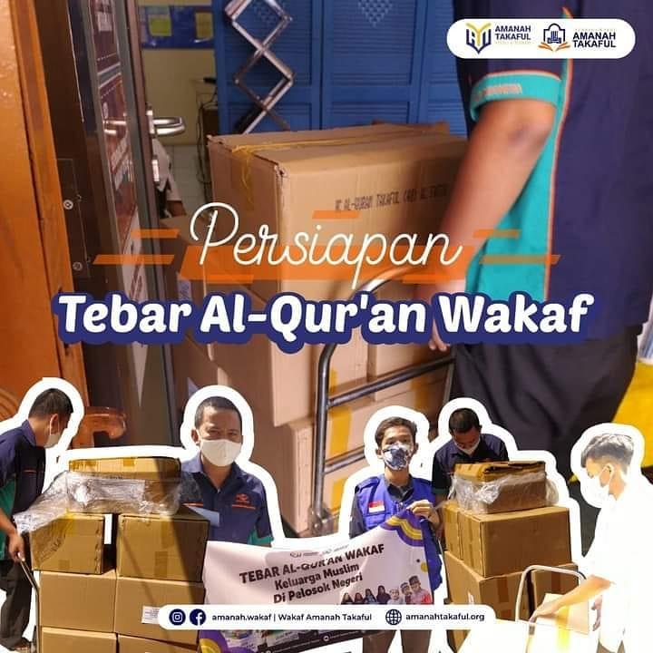 Amanah Takaful Bersiap Mendistribusikan 260 Al-Quran ke Pelosok Negeri