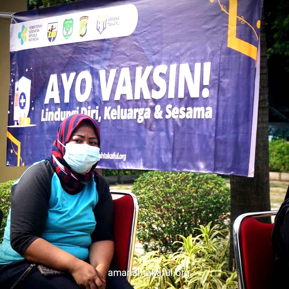 Amanah Takaful Gelar Vaksinasi dalam rangka Milad 23 tahun