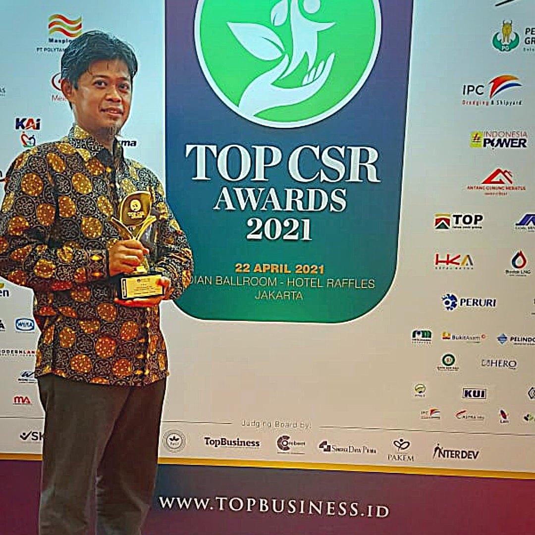 Amanah Takaful Raih Penghargaan TOP CSR AWARDS 2021